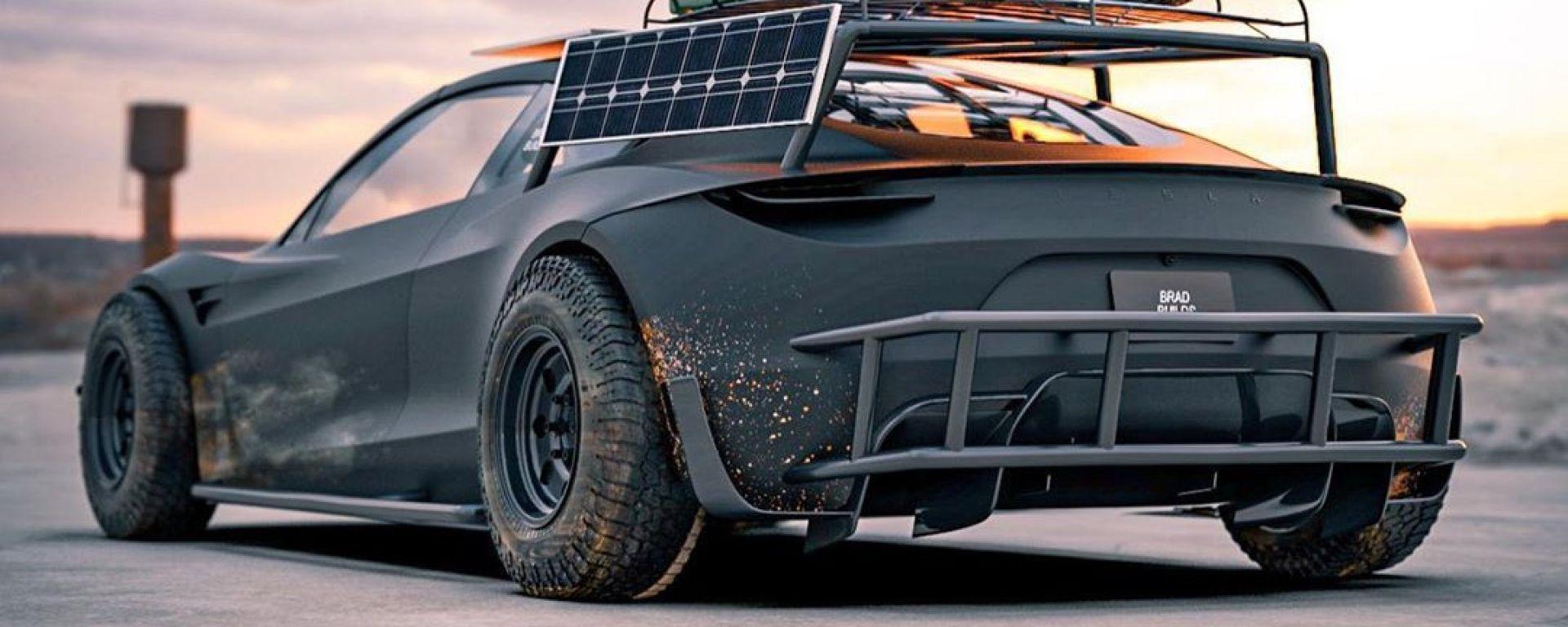 Tesla Roadster Off-Roader