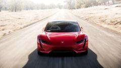 Tesla Roadster: vista frontale