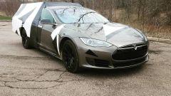Tesla Roamer: la Tesla Model S da campeggio di Travis Rabenberg