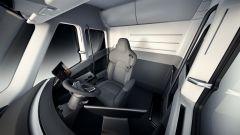 Tesla Semi: il posto di guida