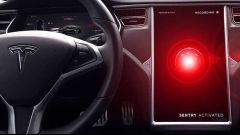 Tesla Sentry Mode: stop alla grafica in stile 2001 Odissea nello spazio