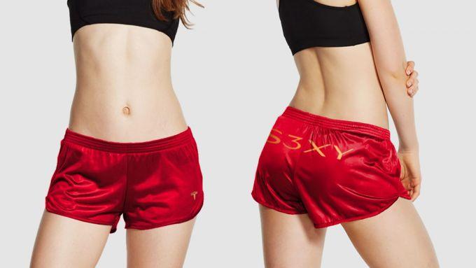 Tesla Short Shorts