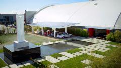 Tesla: una stazione Superchargers in California