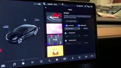 Tesla, un'immagine della modalità Boombox