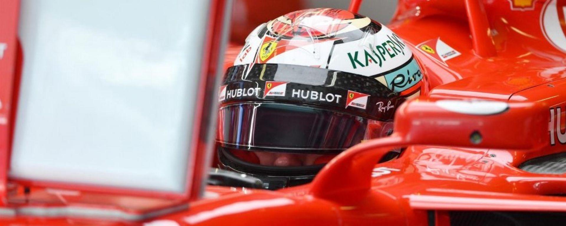 Test Abu Dhabi 2017, Kimi Raikkonen