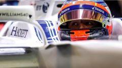 Test Abu Dhabi 2017, Robert Kubica al volante della Williams FW40
