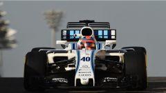 Test Abu Dhabi 2017, Robert Kubica in azione con la Williams FW40