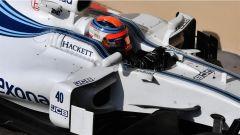 Test Abu Dhabi 2017, Robert Kubica in azione nei test Pirelli