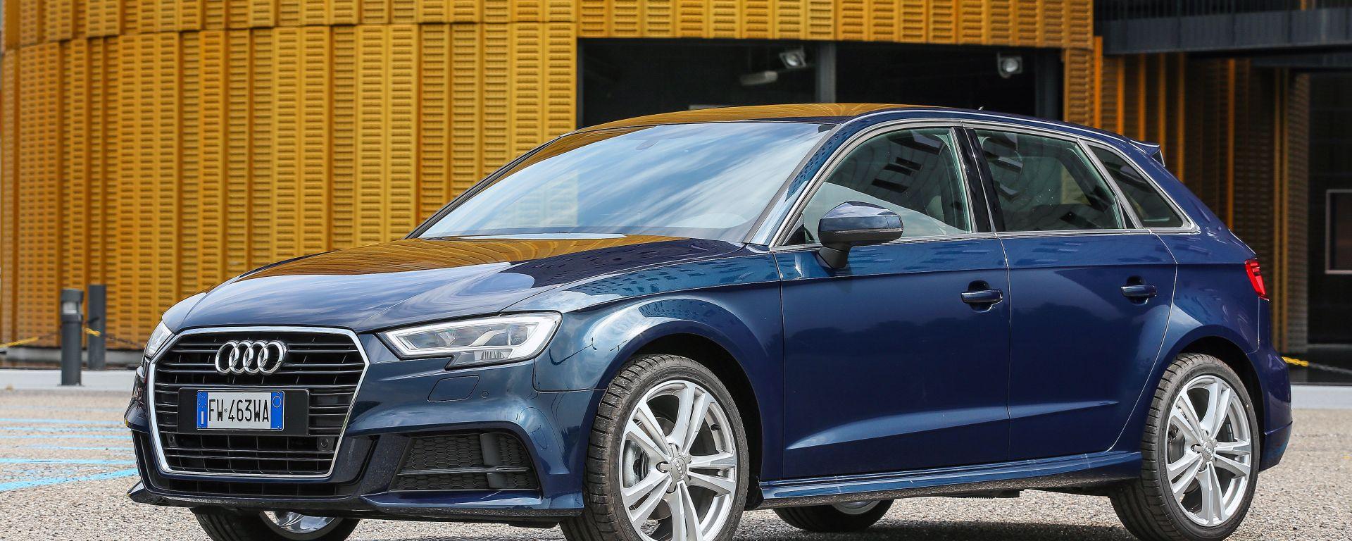 Audi A3 G-Tron nuovo motore e 400 km di autonomia a gas!
