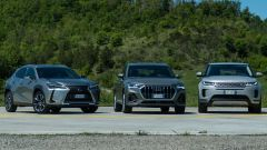 Confronto SUV premium: Audi Q3, Range Rover Evoque, Lexus UX - Immagine: 81