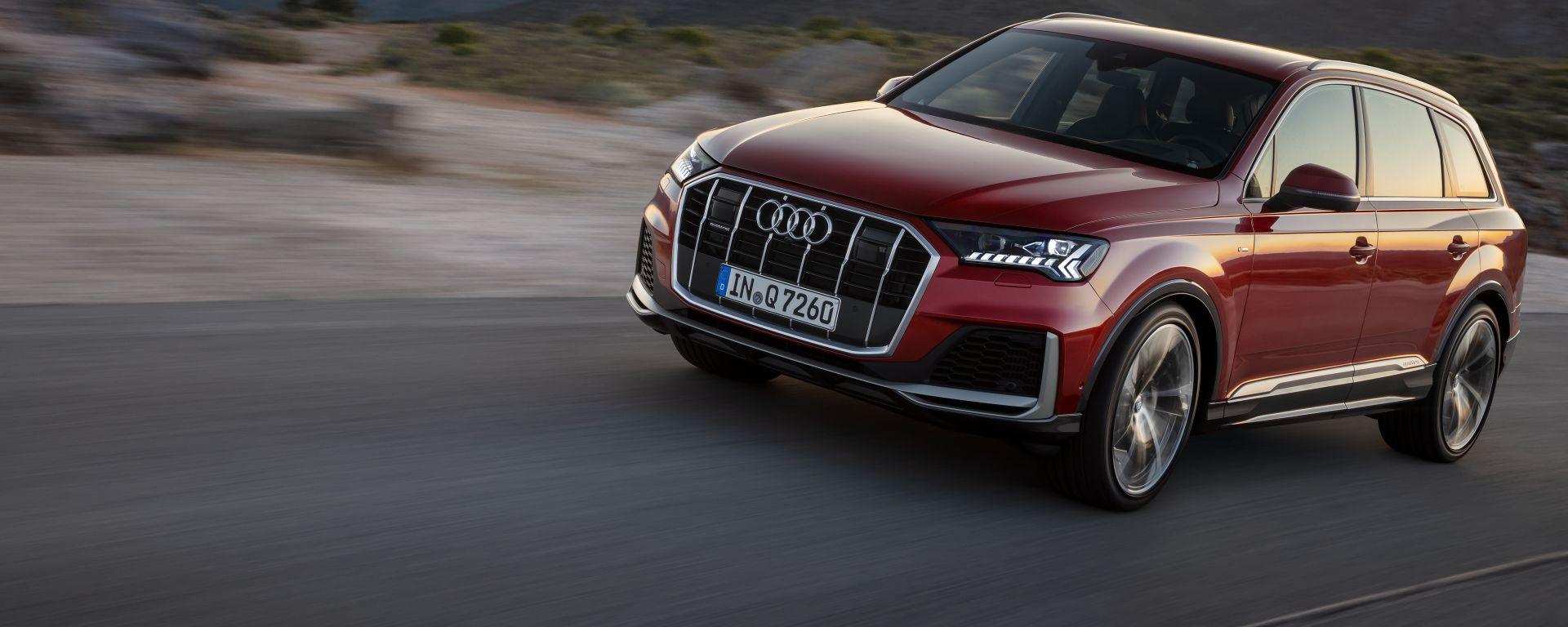 Audi Q7: al volante del maxi SUV più lussuoso di Ingolstadt