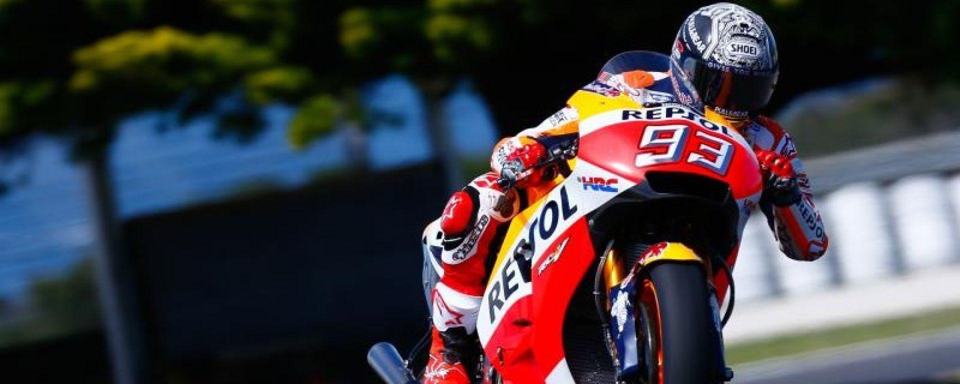 TEST AUSTRALIA 2017: Day 1, Marc Marquez impone la propria supremazia davanti a Rossi e Iannone