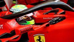 Test Bahrain 2019, Mick Schumacher al volante della Ferrari SF90