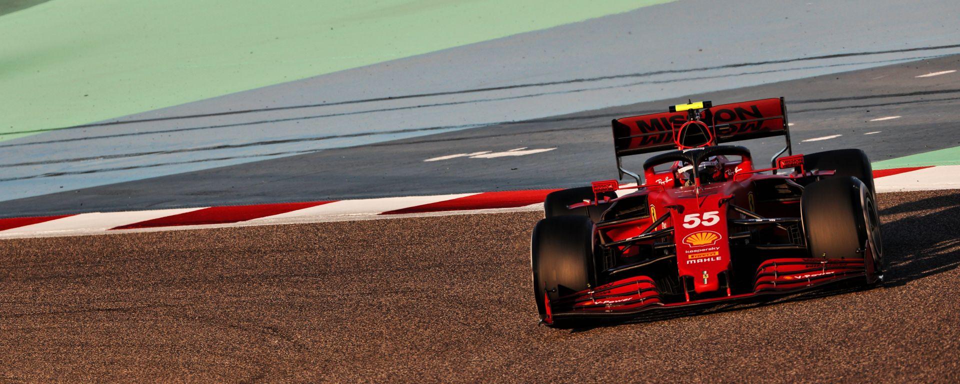 Test Bahrain 2021, Carlos Sainz (Ferrari)