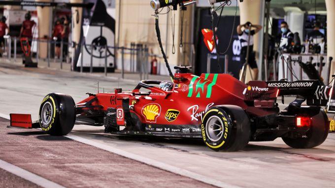 Test Bahrain 2021, Charles Leclerc (Ferrari)