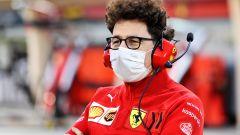 Test Bahrain 2021, Mattia Binotto (Ferrari)