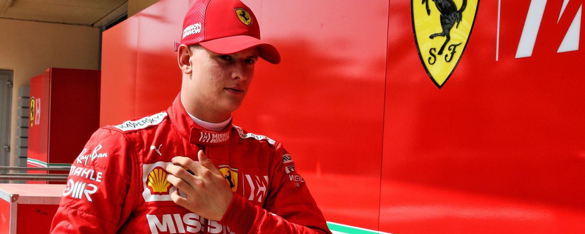 """Test Bahrain, Mick Schumacher: """"Mi sono sentito a casa"""""""