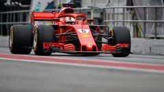 Test Barcellona: le più belle immagini della Ferrari SF71H - Immagine: 2