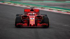Test Barcellona: le più belle immagini della Ferrari SF71H - Immagine: 3
