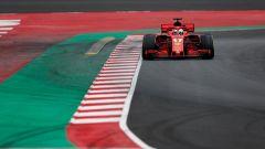 Test Barcellona: le più belle immagini della Ferrari SF71H - Immagine: 8