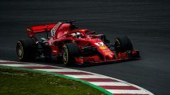 Test Barcellona: le più belle immagini della Ferrari SF71H - Immagine: 4