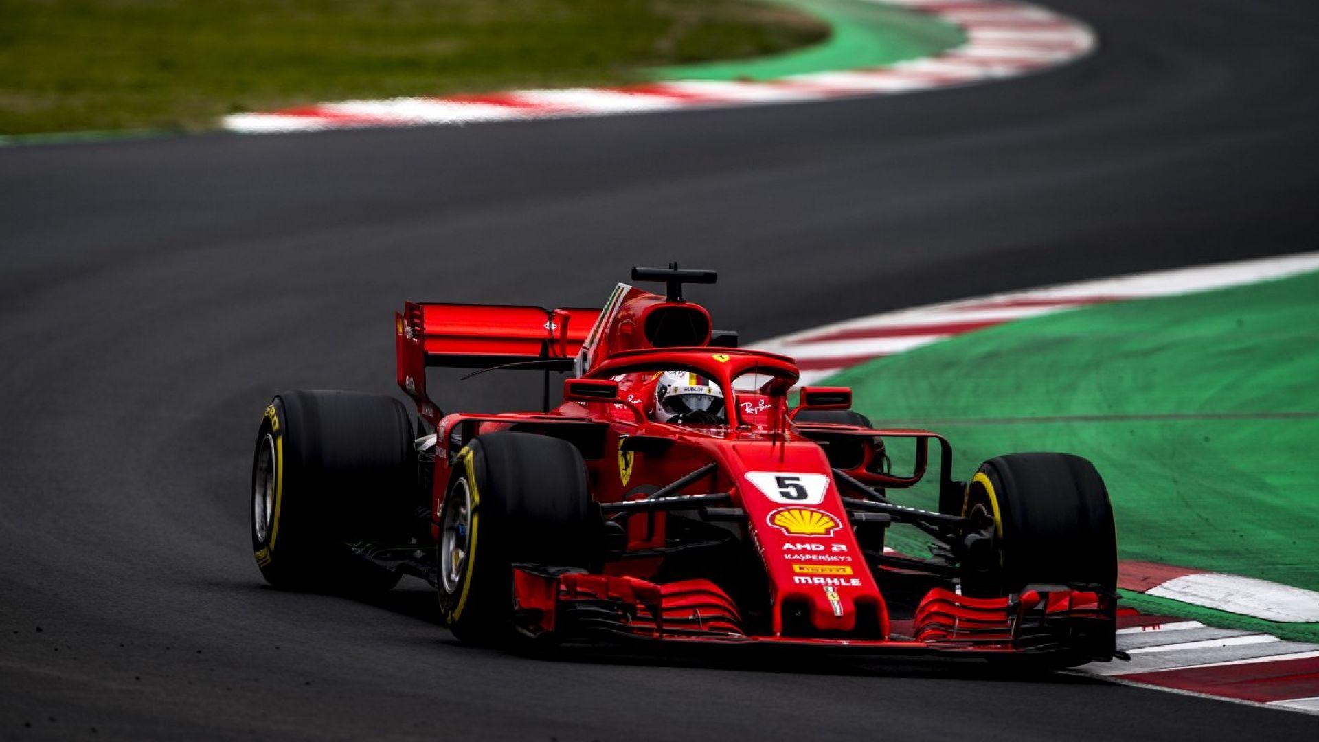 F1 2018, Test Barcellona: tutte le foto della Ferrari ...