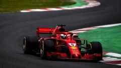 Test Barcellona: le più belle immagini della Ferrari SF71H - Immagine: 5
