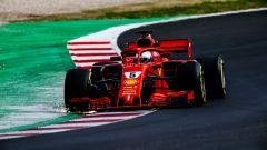 Test Barcellona: le più belle immagini della Ferrari SF71H - Immagine: 1