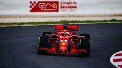 Test Barcellona: le più belle immagini della Ferrari SF71H - Immagine: 6