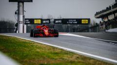 Test Barcellona: le più belle immagini della Ferrari SF71H - Immagine: 13
