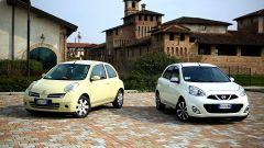 Nissan Micra vs Nissan Micra: generazioni a confronto - Immagine: 2