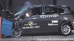 Test Euro NCAP: la Fiat Tipo in allestimento base è da tre stelle