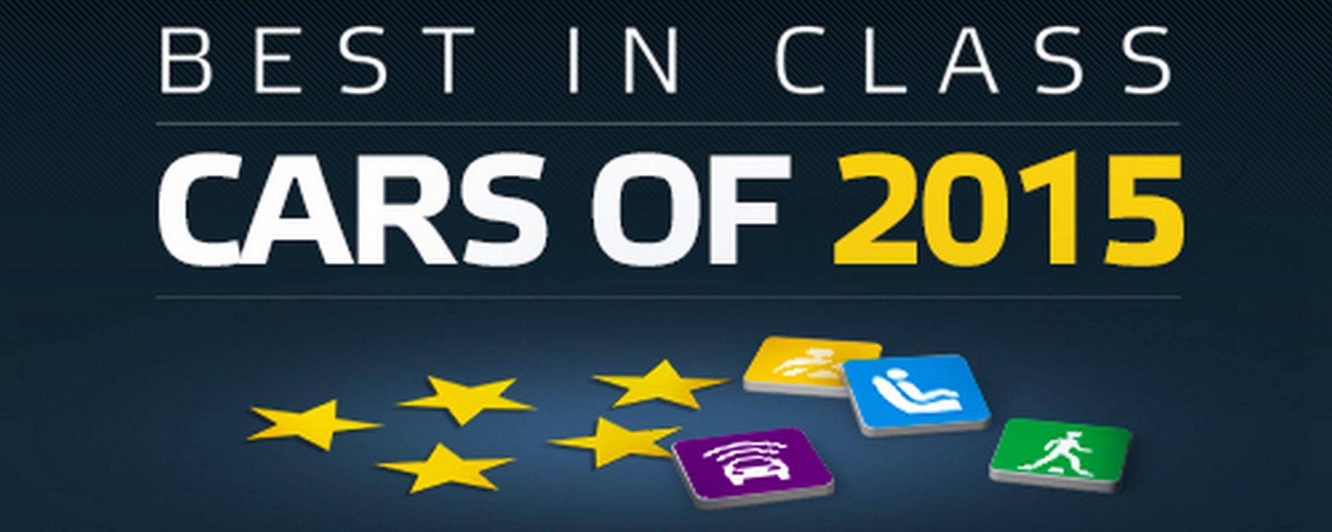 Test EuroNCAP: le migliori del 2015