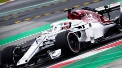 Test F1 2018 Barcellona 2, Alfa Romeo Sauber