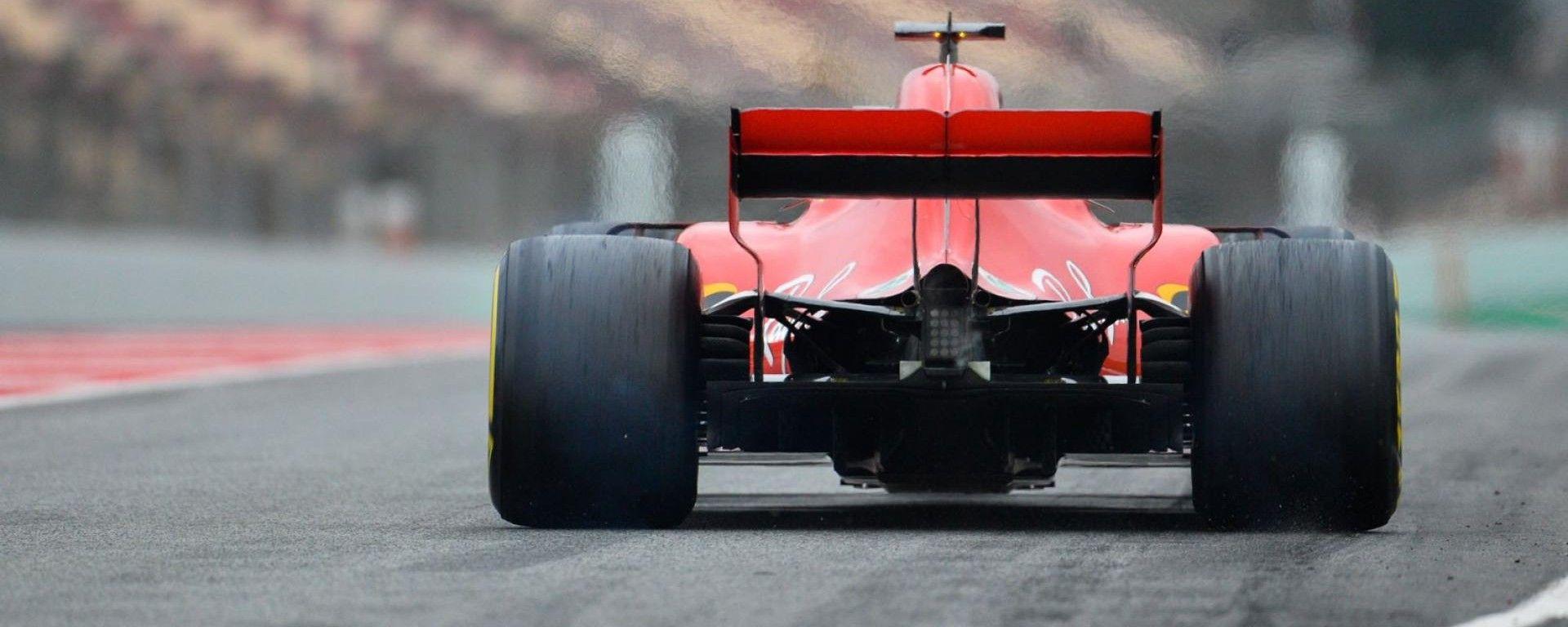 Test F1 2018 Barcellona 2, Scuderia Ferrari