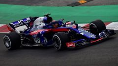 Test F1 2018 Barcellona Day 1, Brendon Hartley