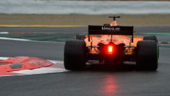 Test F1 2018 Barcellona Day 1, Fernando Alonso in azione