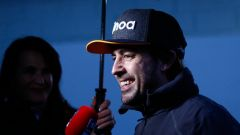 Test F1 2018 Barcellona Day 1, Fernando Alonso in conferenza stampa