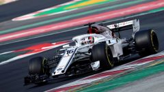 Test F1 2018 Barcellona Day 2, Charles Leclerc