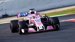 Test F1 2018 Barcellona Day 2, Esteban Ocon