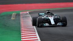 Test F1 2018 Barcellona Day 4, Lewis Hamilton