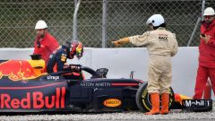 Test F1 2018 Barcellona Day 4, Max Verstappen