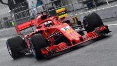 Test F1 2018 Barcellona Day 4, Sebastian Vettel