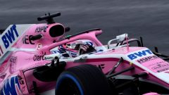 Test F1 2018 Barcellona Day 4, Sergio Perez
