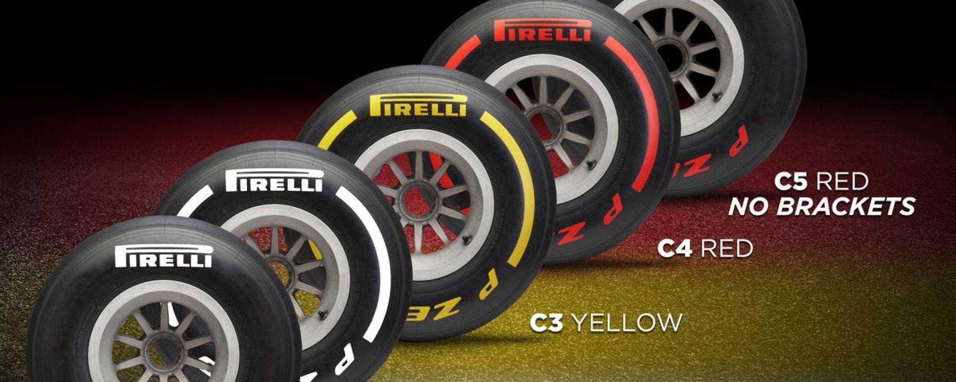 Test F1, Pirelli porterà tutte e 5 le mescole a Barcellona