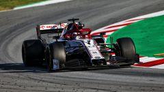 Test F1 2020 Barcellona, Kimi Raikkonen (Alfa Romeo)