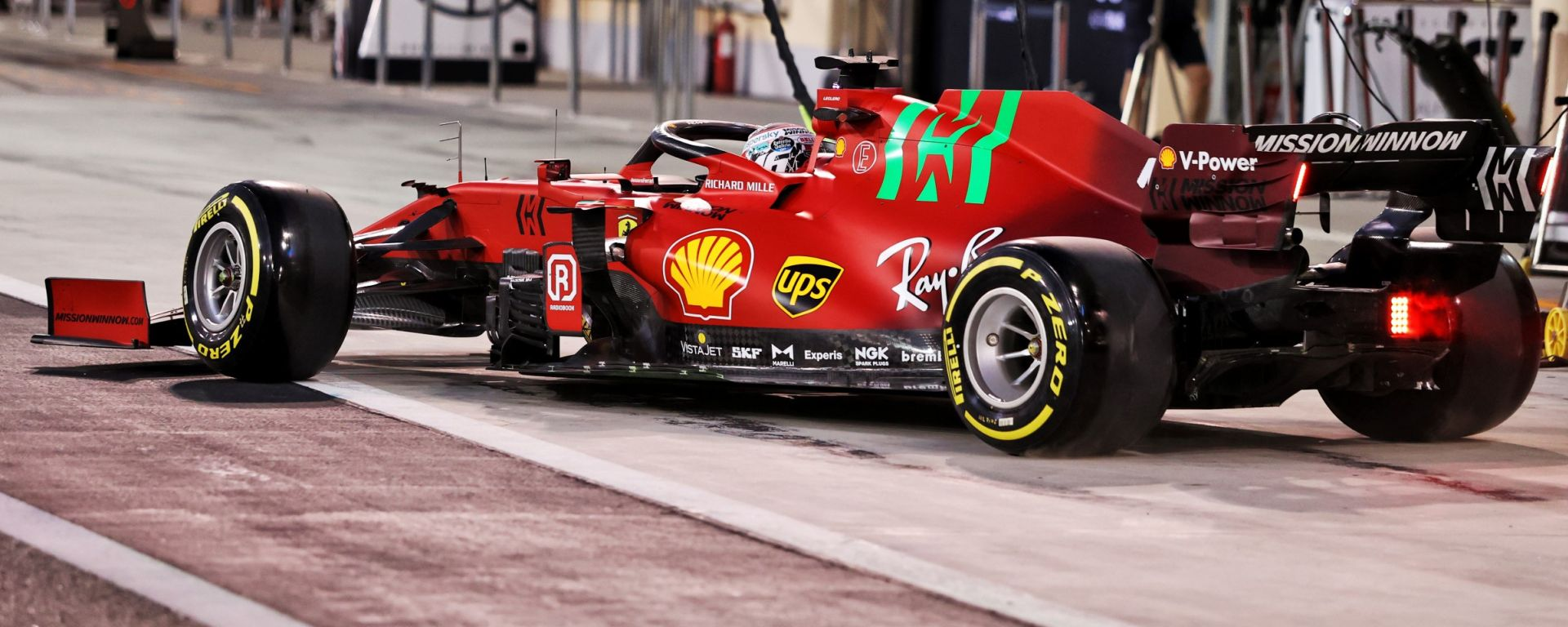 Test F1 2021: Charles Leclerc (Ferrari)