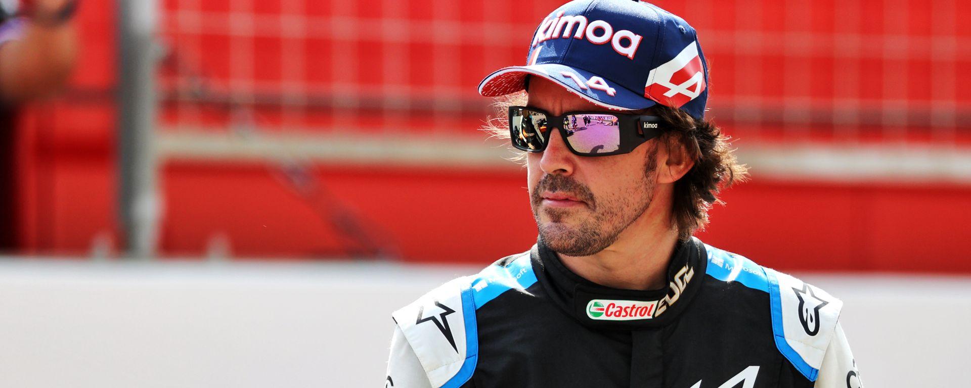 Test F1 2021: Fernando Alonso (Alpine)