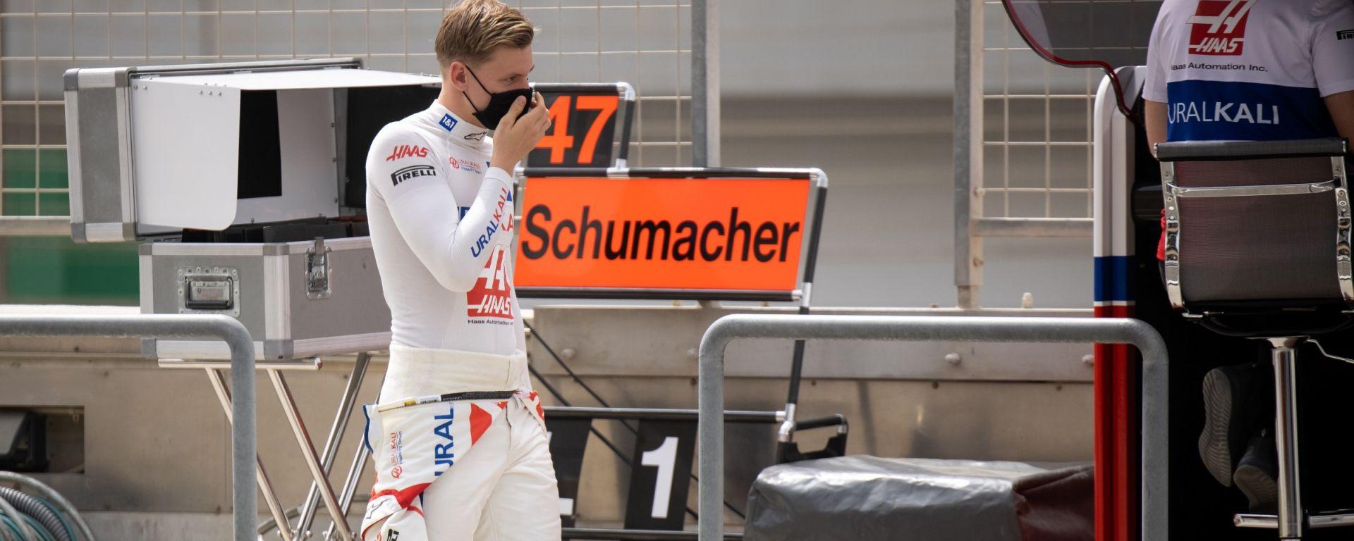 Test F1 2021: Mick Schumacher (Haas)