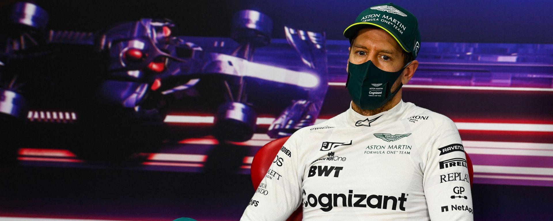 Test F1 2021: Sebastian Vettel (Aston Martin)